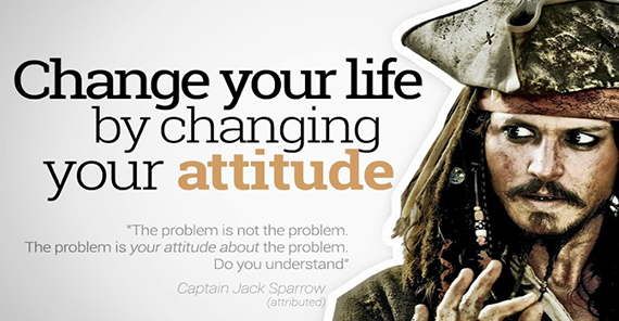 changing attitude Your life will never change if your attitude doesn't first change means a departure from the ordinary to change requires that we leave what we know and.