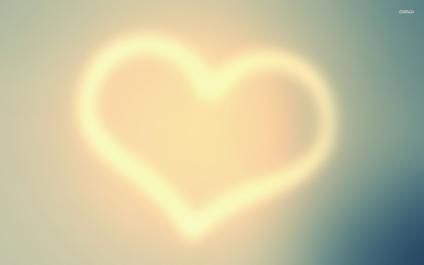 lighted heart