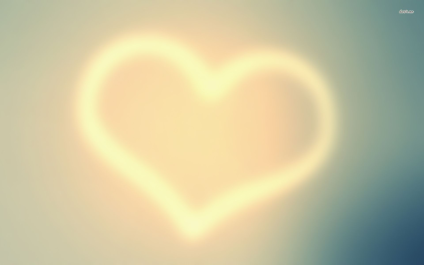 lighted heart