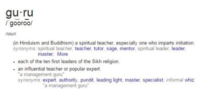 Guru-Definition