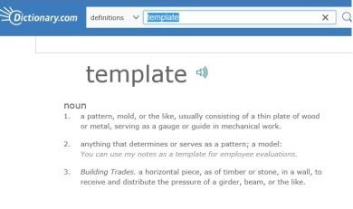 template