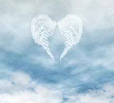 angel-wings-in-cloudy-blue-sky-fairy-fantasies