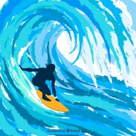 silhouette-of-surfer_23-2147510972