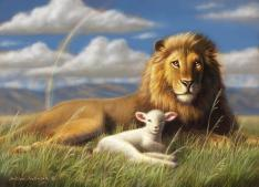 the-lion-and-lamb-william-hallmark